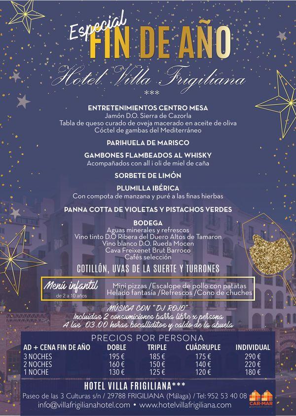 Fin de año en Villa Frigiliana